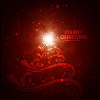 Счастливого Рождества фон