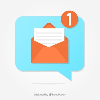 Message notification background