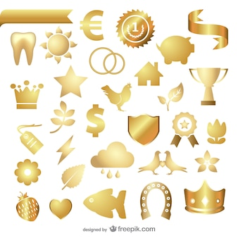 Metal texture jewelry icon    vector