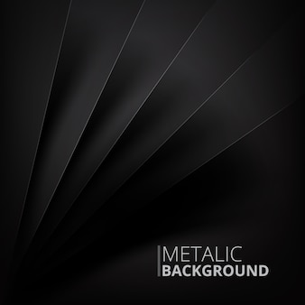 Metalic background design