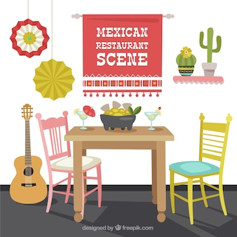 Mexican restaurant scene