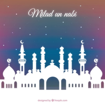 Milad Un Nabi Mosque Background