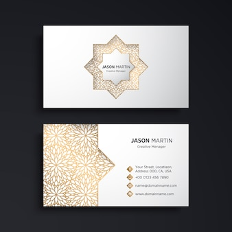 Minimal luxury business card