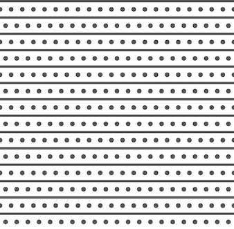 Minimal rhombus pattern with dots and lines