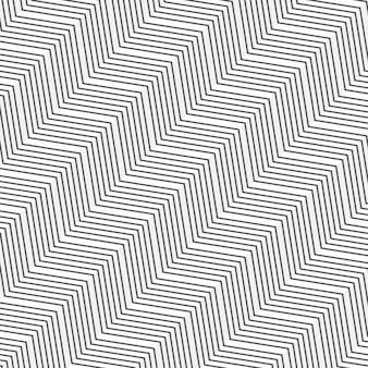 Minimal zigzag pattern