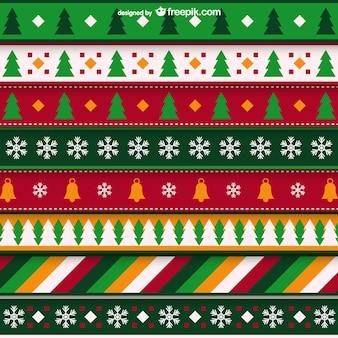 ミニマリストのクリスマスパターン