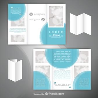 Minimalist flyer template