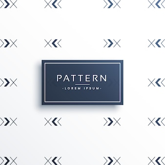 Minimalist pattern background with arrows