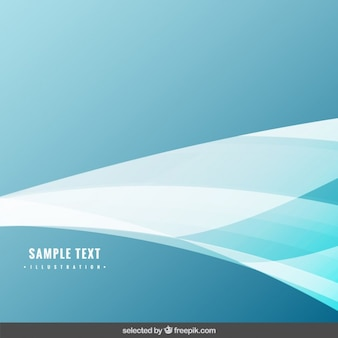 Mint background with wave