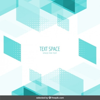 Mint polygonal background