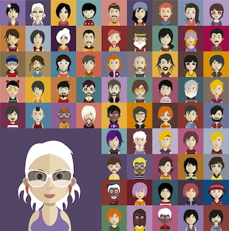 Miscellaneous avatar collection