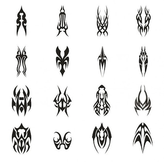 Miscellaneous tattoos vectors