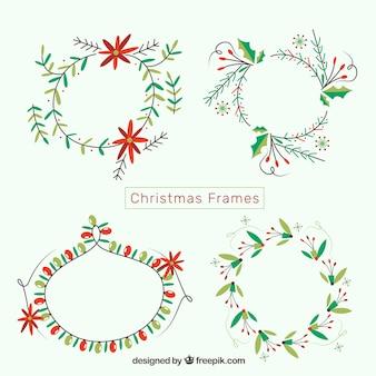 Mistletoe Christmas Frame Collection