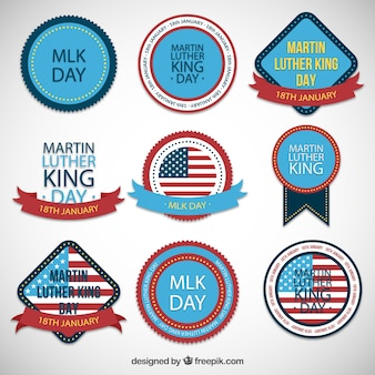 MLK day badges collection