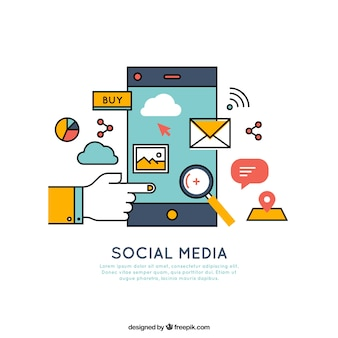 Mobile and social media elements