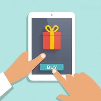 Mobile app to buy presents