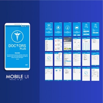Mobile application for diseases
