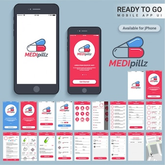 Mobile application for medical consultations
