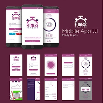 Mobile application for sports