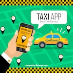 Mobile application for taxi services