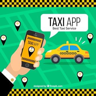 Мобильное приложение для служб такси