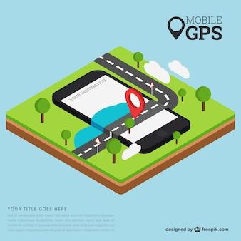 Mobile gps template