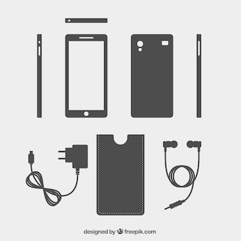 Mobile phone and accessories
