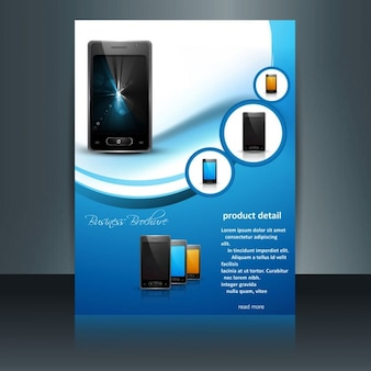 Mobile phone brochure