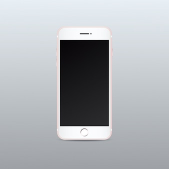 Mobile phone mock up design