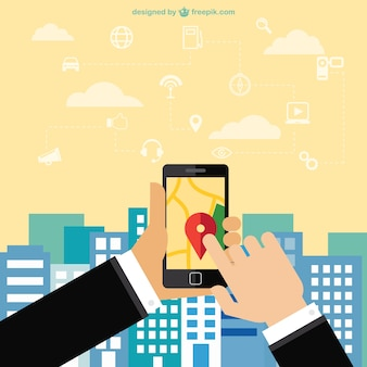 Mobile phone navigation app