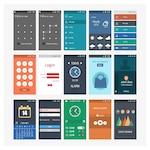 Mobile screenshots templates