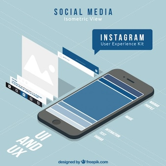 Mobile with social media