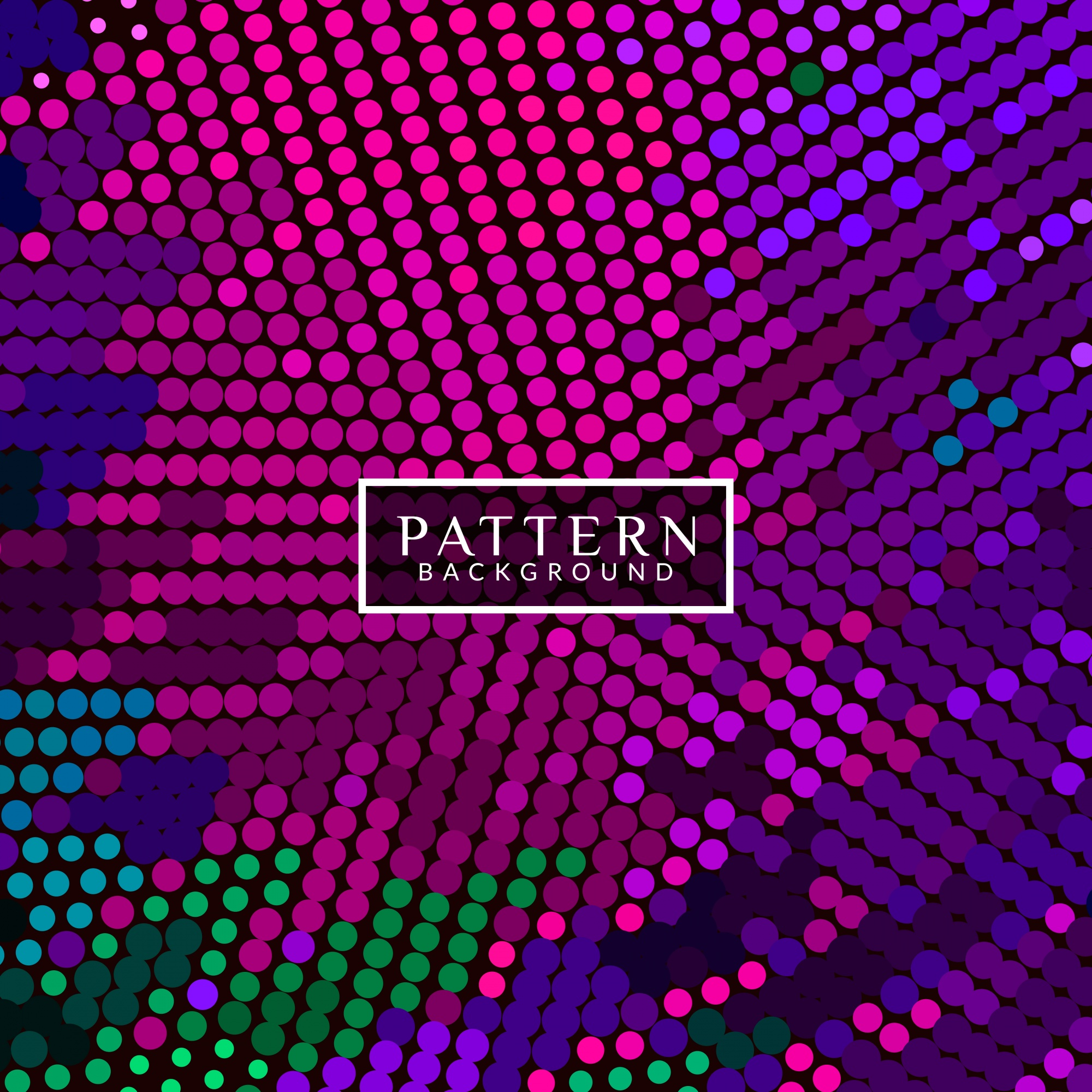 Modern abstract background with halftone dots