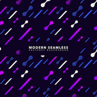 Modern Abstract Dynamic Shapes Background