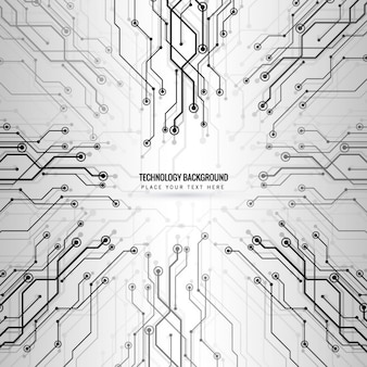 Modern abstract technology background