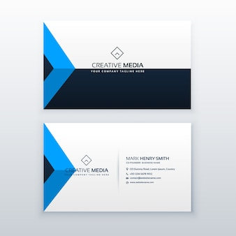 Modern and stylish business card