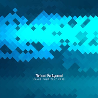 Modern blue abstract pixel background
