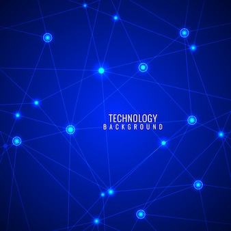 Modern blue background, technological theme