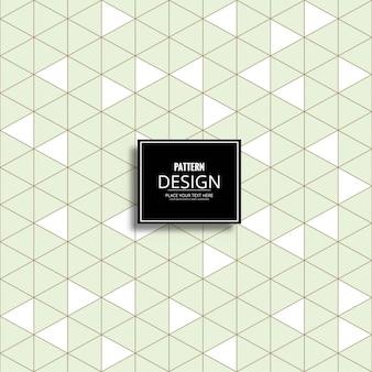 Modern bright triangular pattern