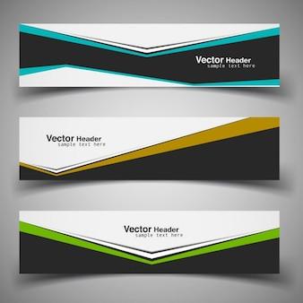Modern business banners