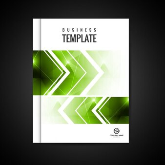 Modern business booklet