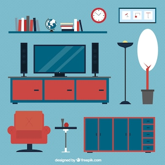 Modern collection of home furniture