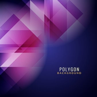 Modern colorful polygonal background