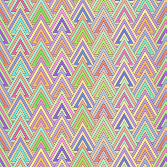 Modern colorful triangle pattern