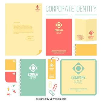 Modern corporate identity