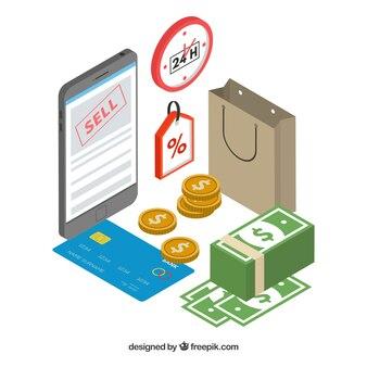 Modern e-commerce composition
