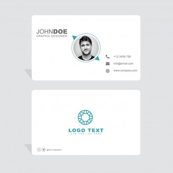 Modern elegant business card