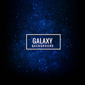 Modern galaxy background