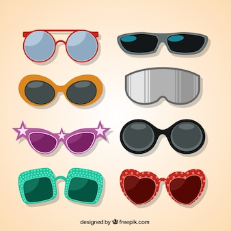 Modern glasses collection