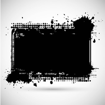 Modern grunge frame design